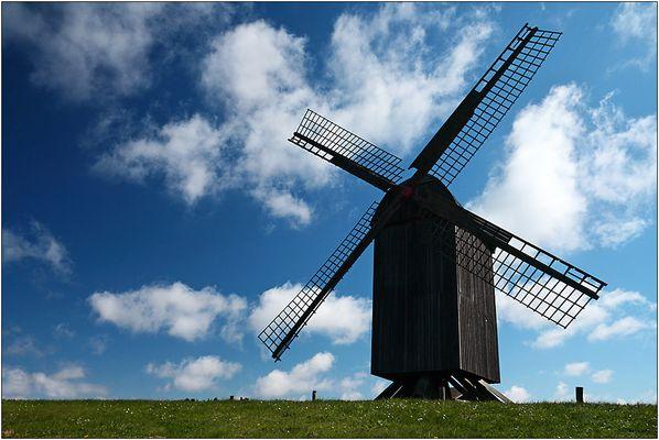 Die alte Mühle auf Usedom