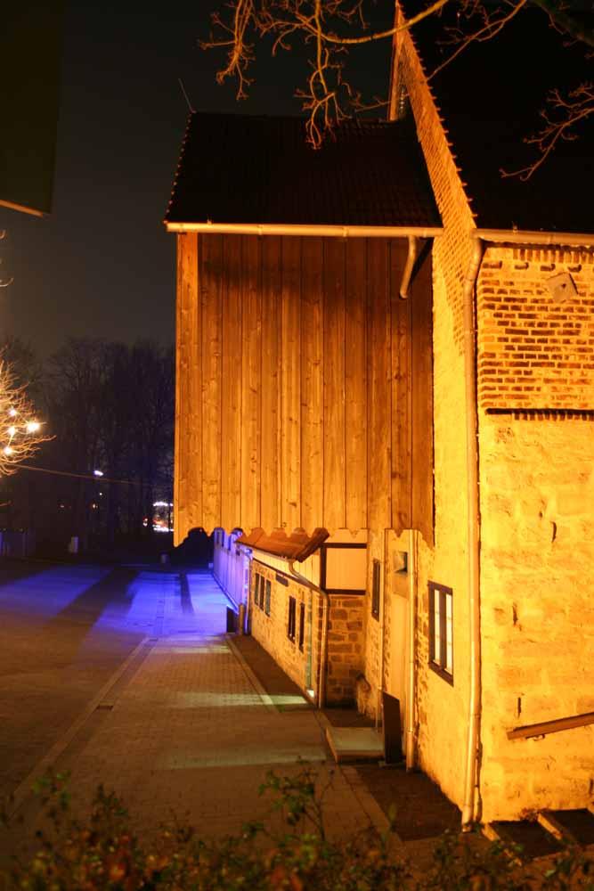 Die alte Mühle bei Nacht