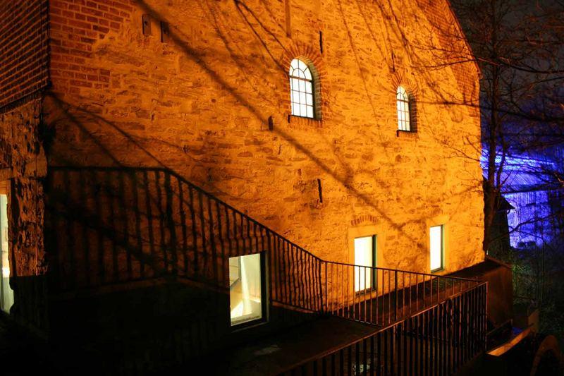 Die alte Mühle bei Nacht Teil 2
