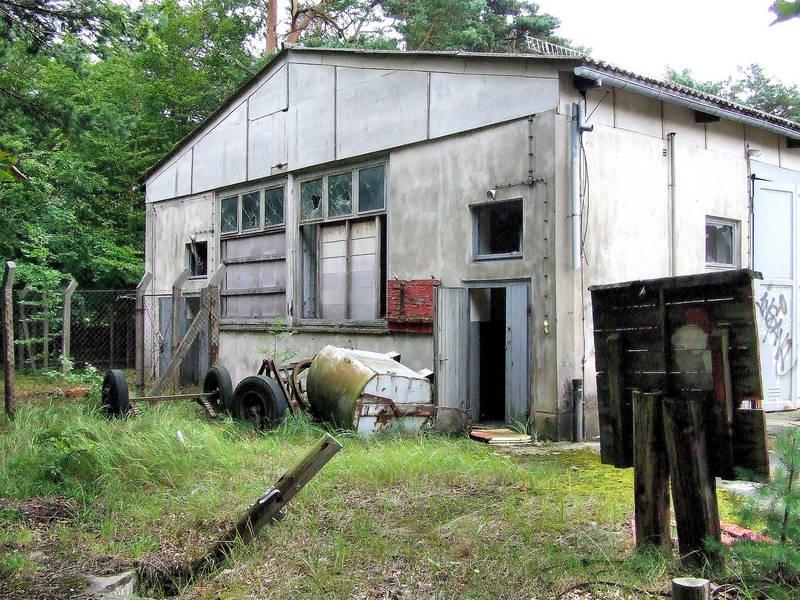 Die alte NVA-Kaserne