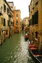 Die alte Stadt Venedig