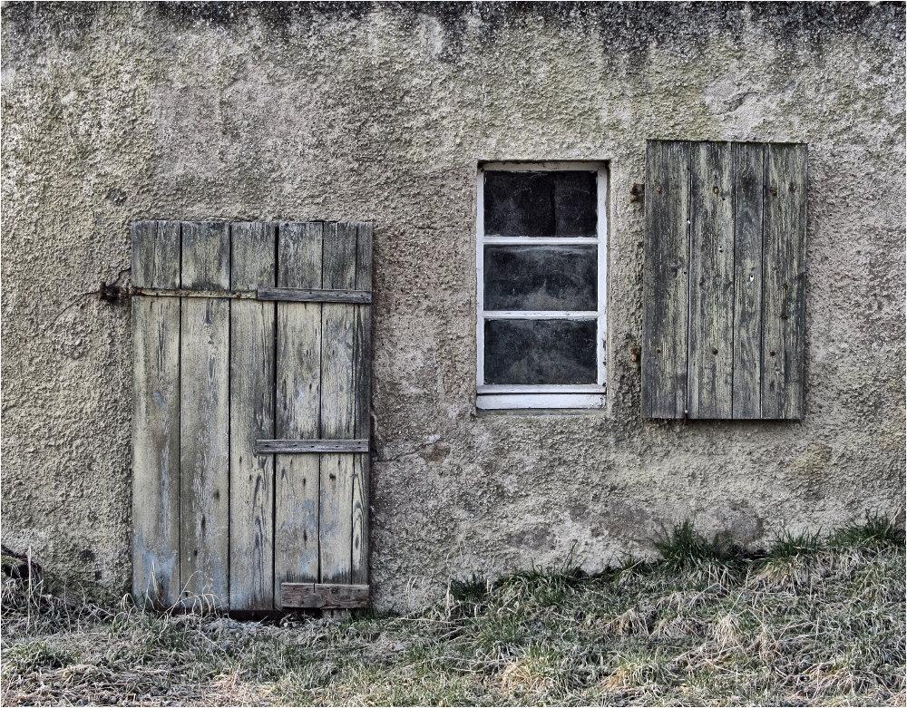 Die alte Stalltür