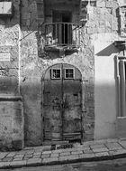 Die alte Tür in sw