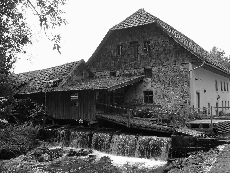 Die alte Wassermühle von Böbrach