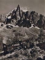 Die alte Zahnradbahn von Chamonix zum Montenvers