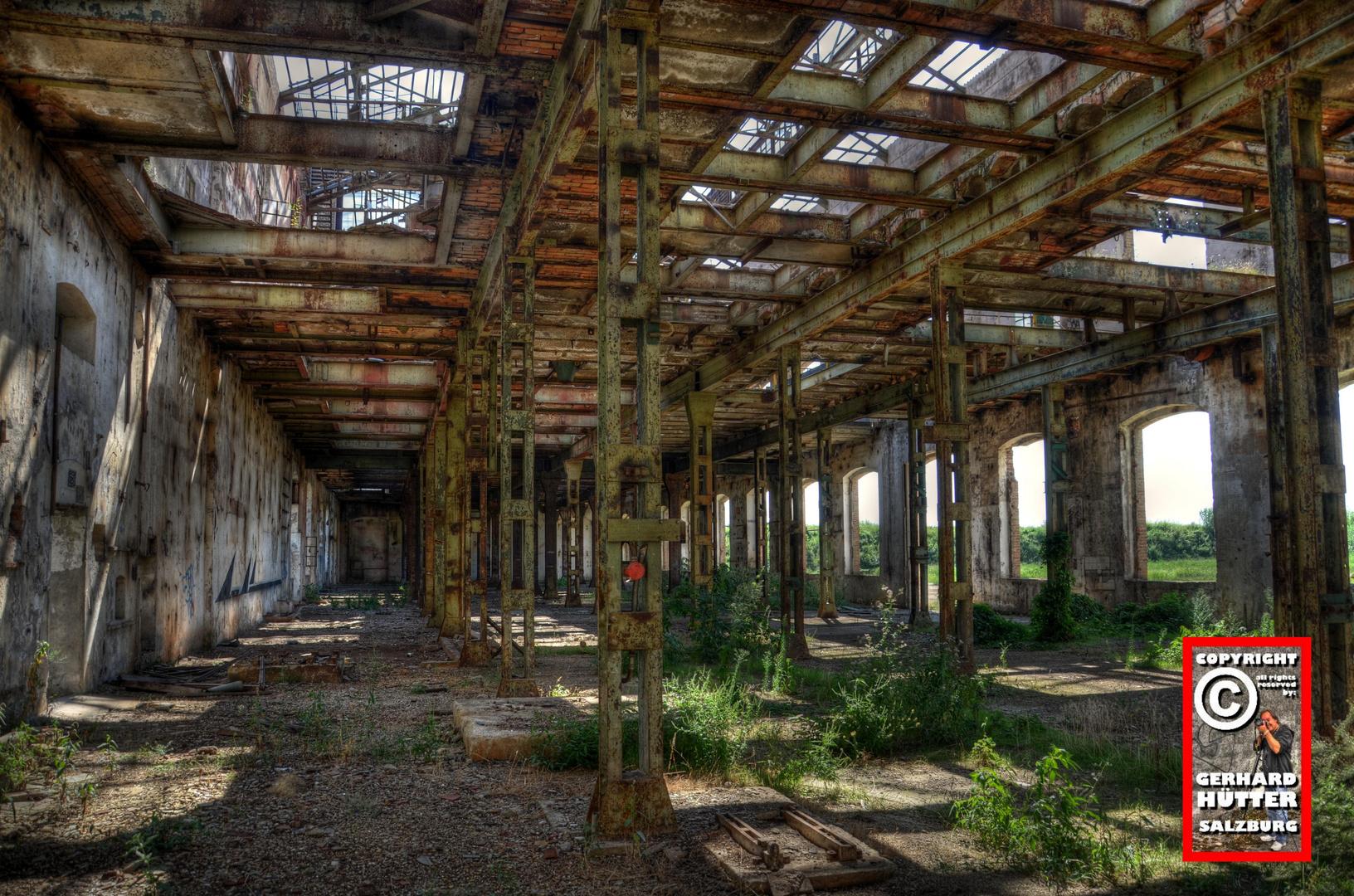 Die alte Zuckerfabrik