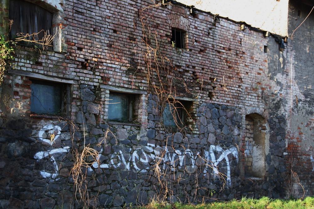Die alten Ställe sind leer