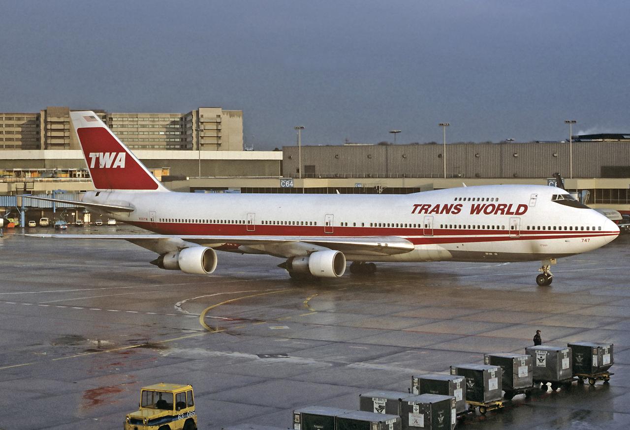 Die alten Zeiten in Frankfurt-TWA