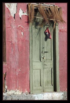 Die Alte......Tür