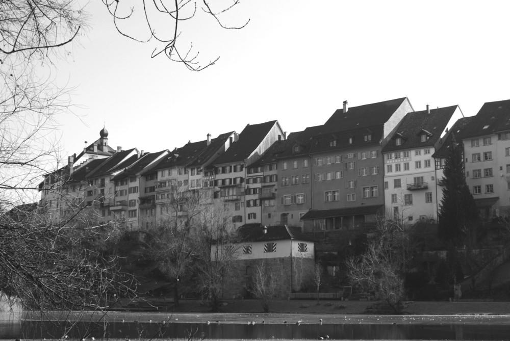 Die Altstadt in Wil Schweiz