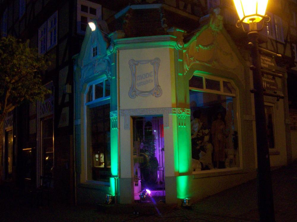 Die Altstadt ins Licht gerückt
