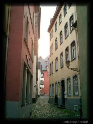 Die Altstadt von Koblenz