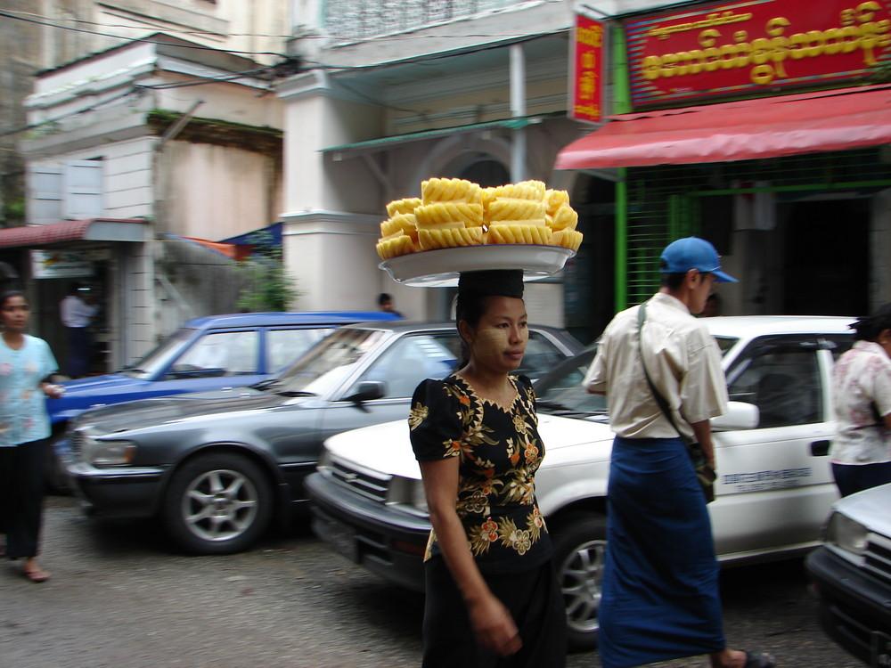 Die Ananasschale