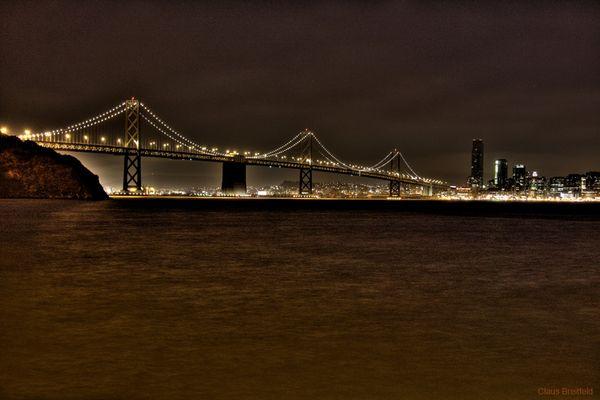 Die andere Brücke in San Francisco: Bay Bridge
