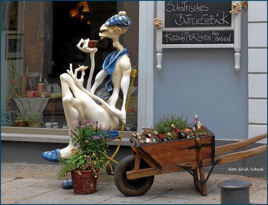 Die angebotenen Butterkekse gibt es in Gera