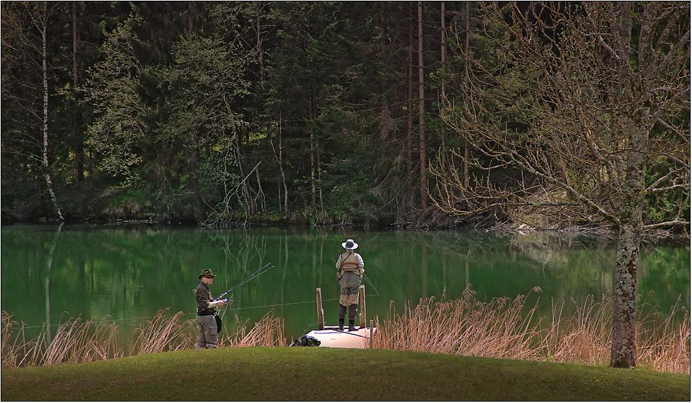 Die Angler ...