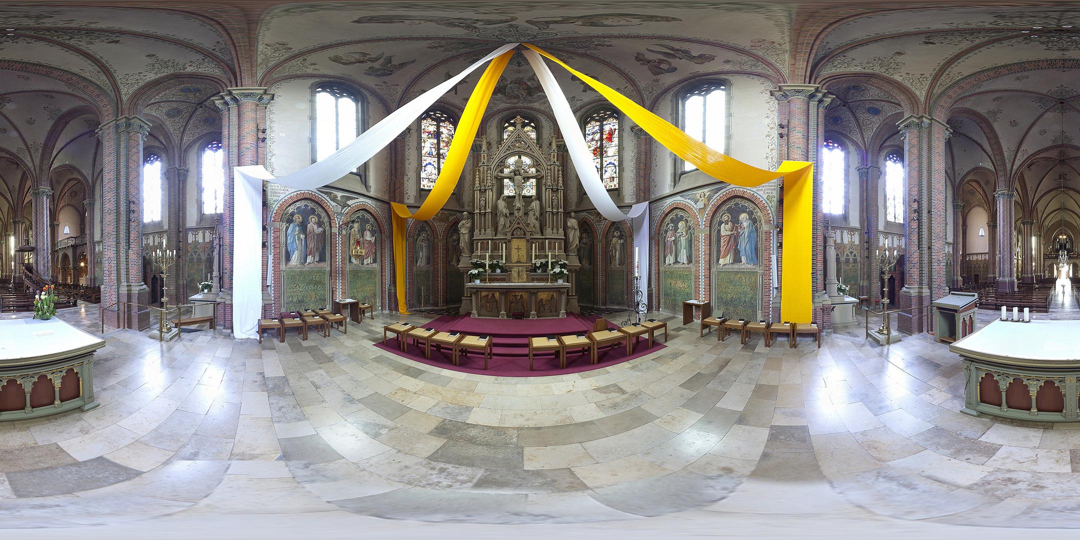 Die Antoniuskirche in Papenburg