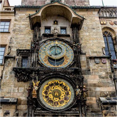 Die Astronomische Uhr ...