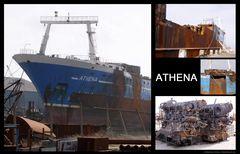 Die ATHENA gibt´s nicht mehr...
