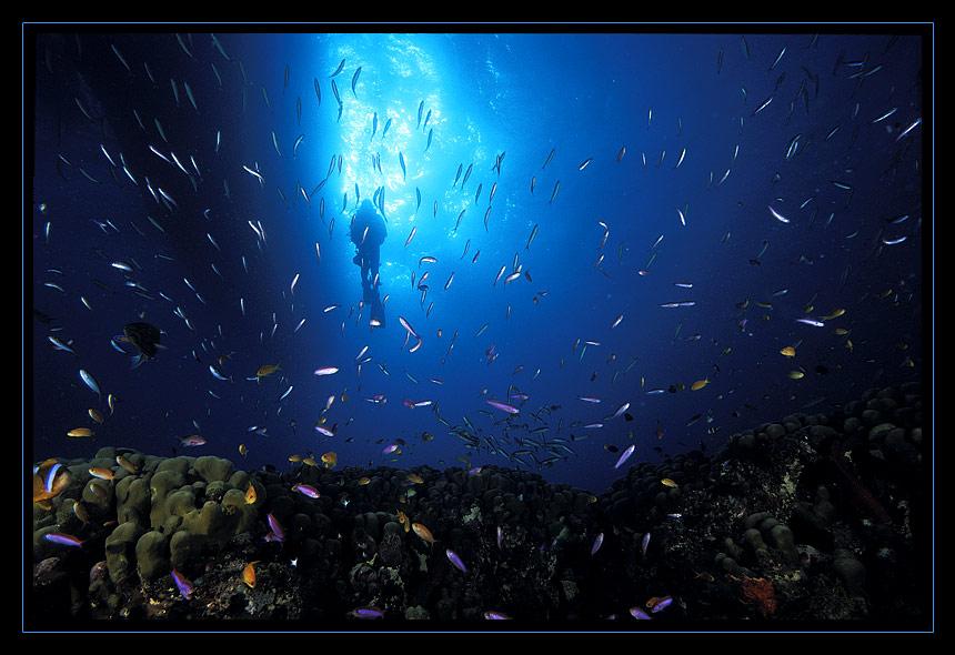 Die Atmosphäre unter Wasser ...