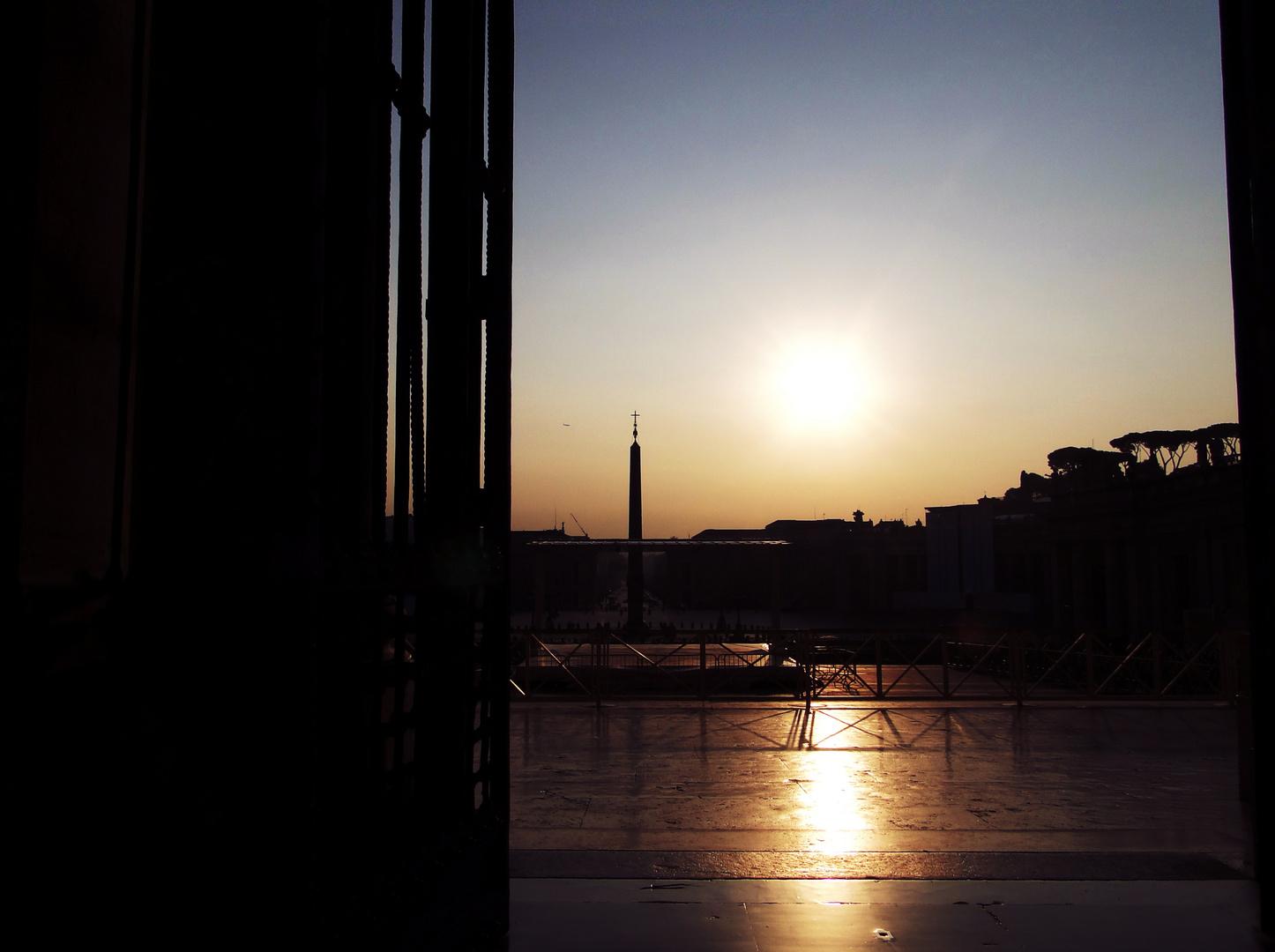 Die aufgehende Sonne