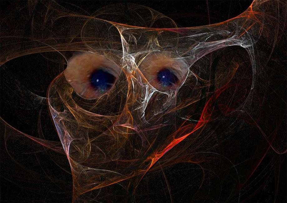 Die Augen von Apophysis