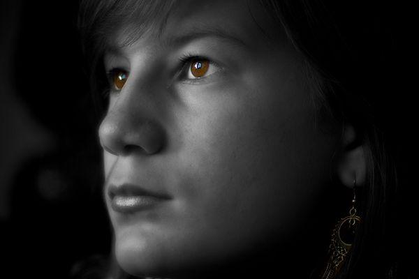 Die Augen von Leah