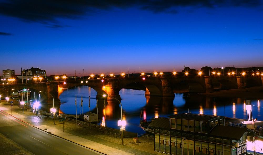 Die Augustusbrücke