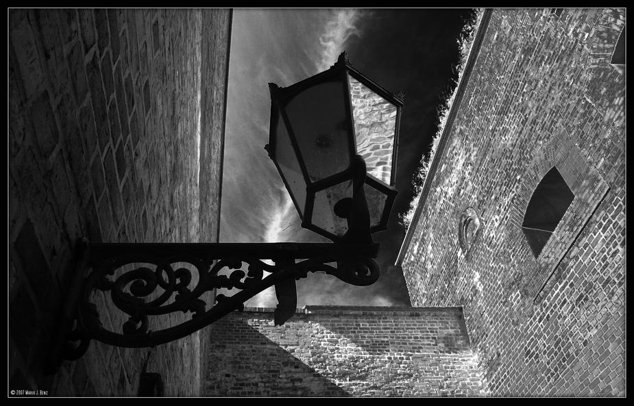Die Aussicht der alten Laterne