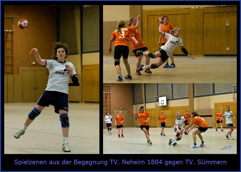 Die B. - Mannschaften des TV. Neheim und DJK. Sümmern