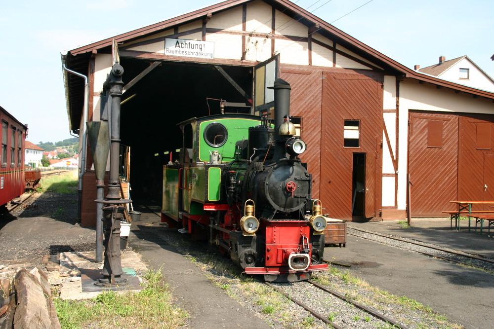 Die Bad Orber Kleinbahn in Hessen 2