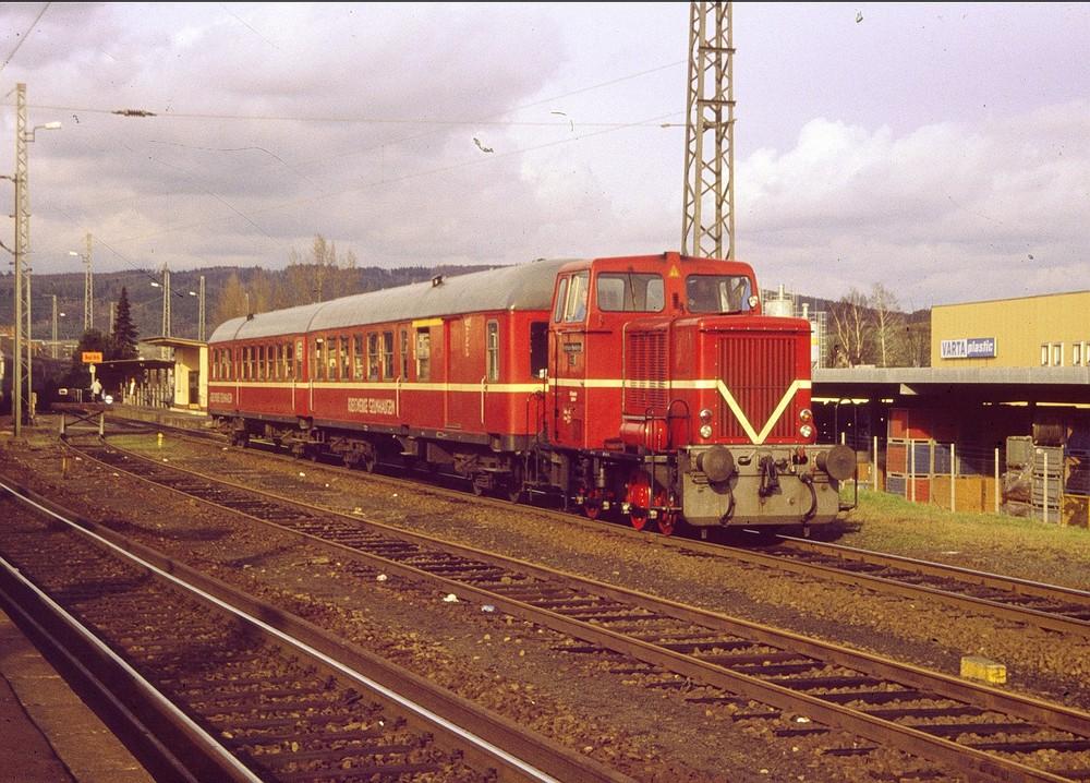 Die Bad Orber Kleinbahn in Hessen 4