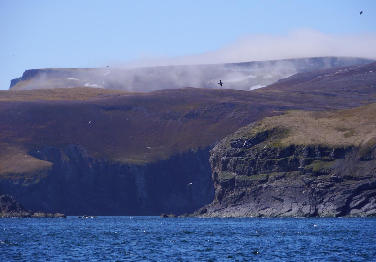 Die Bäreninsel in der Barentsee
