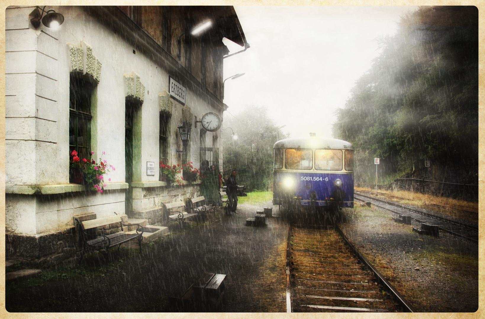Die Bahn fährt immer