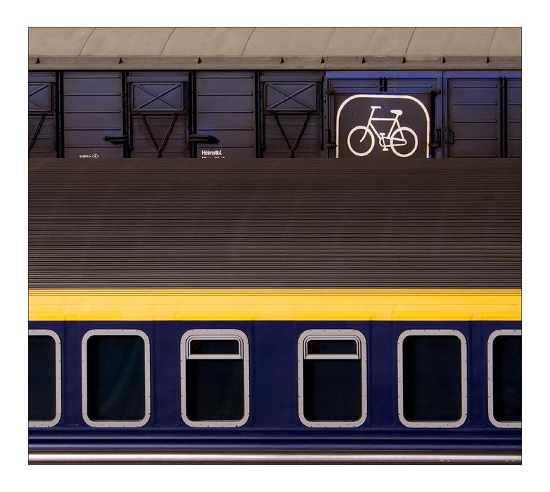 Die Bahn fährt Rad