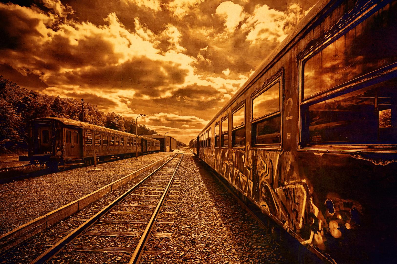 Die Bahn in Belgien