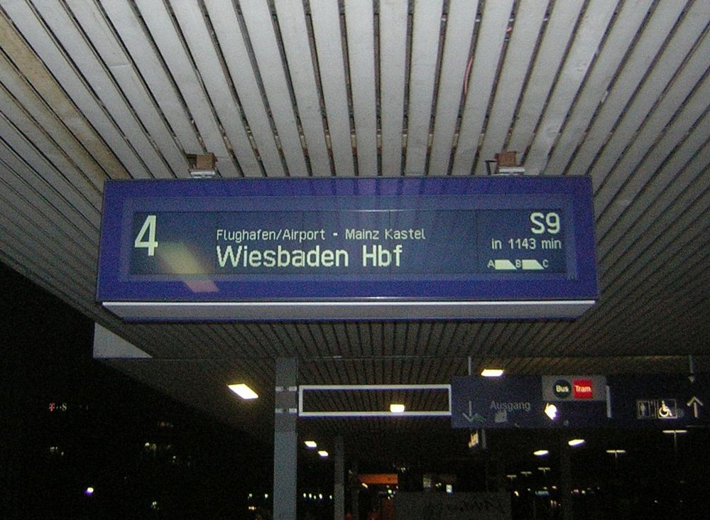 Die Bahn kommt........