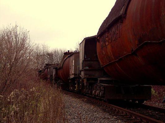 Die Bahn kommt (Mit Torpedofannenwagen)