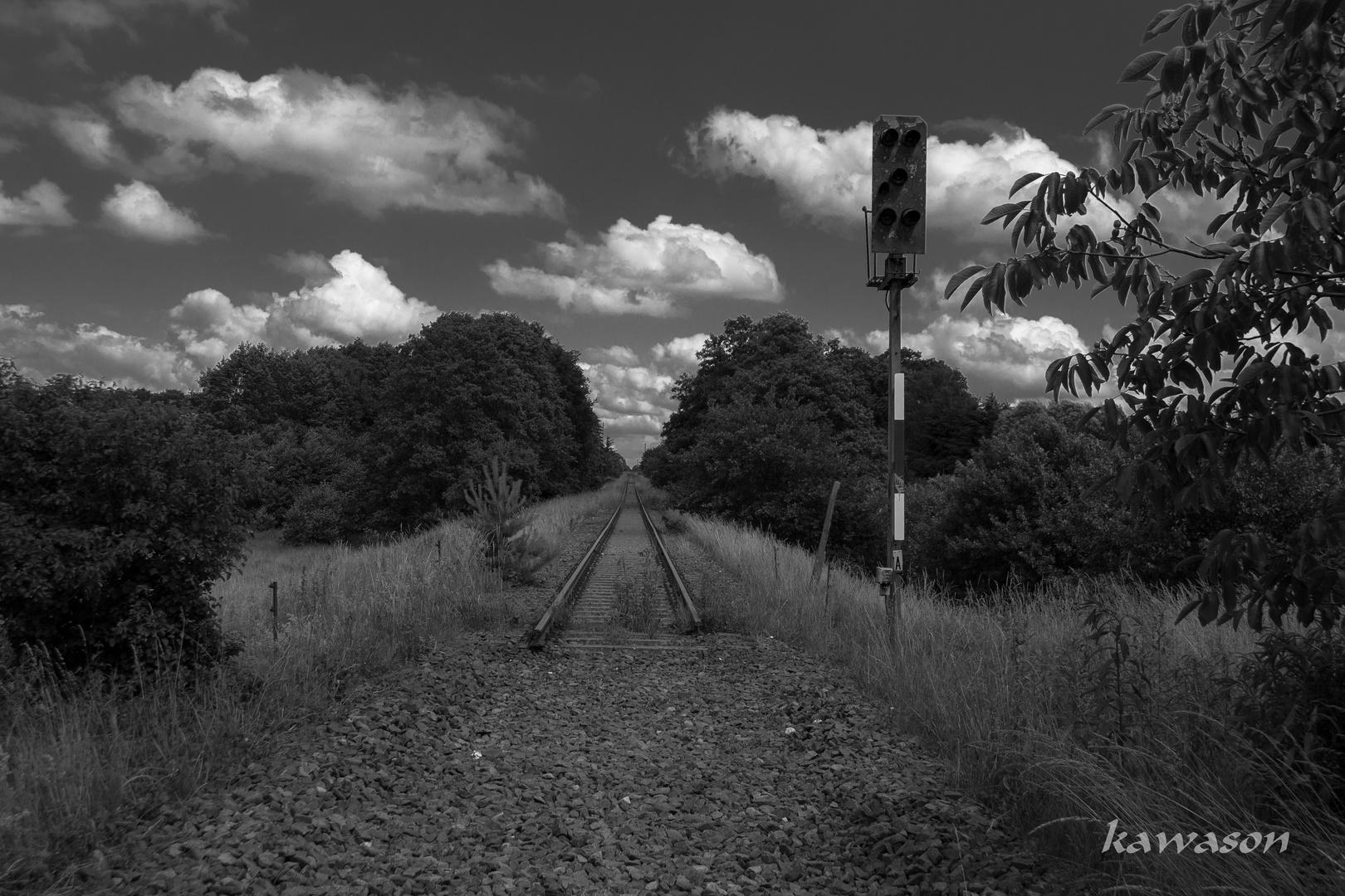 Die Bahn kommt......(nie wieder)