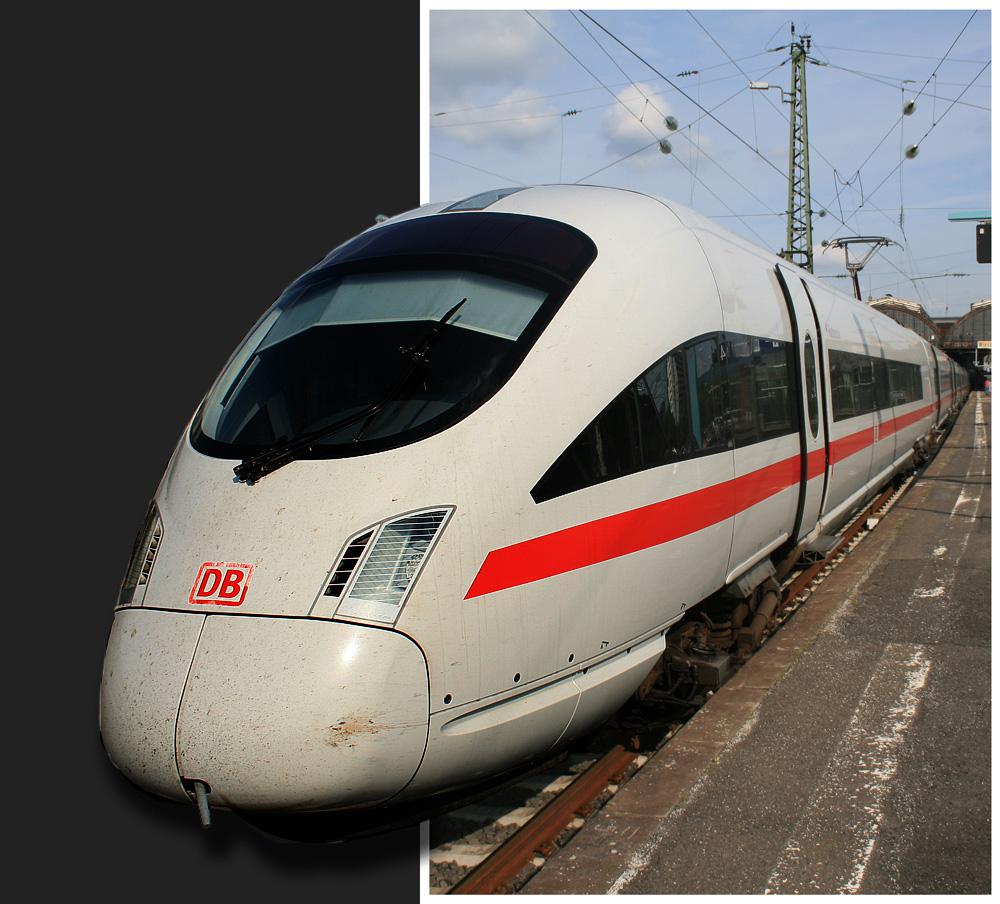 Die Bahn - sprengt jeden Rahmen...