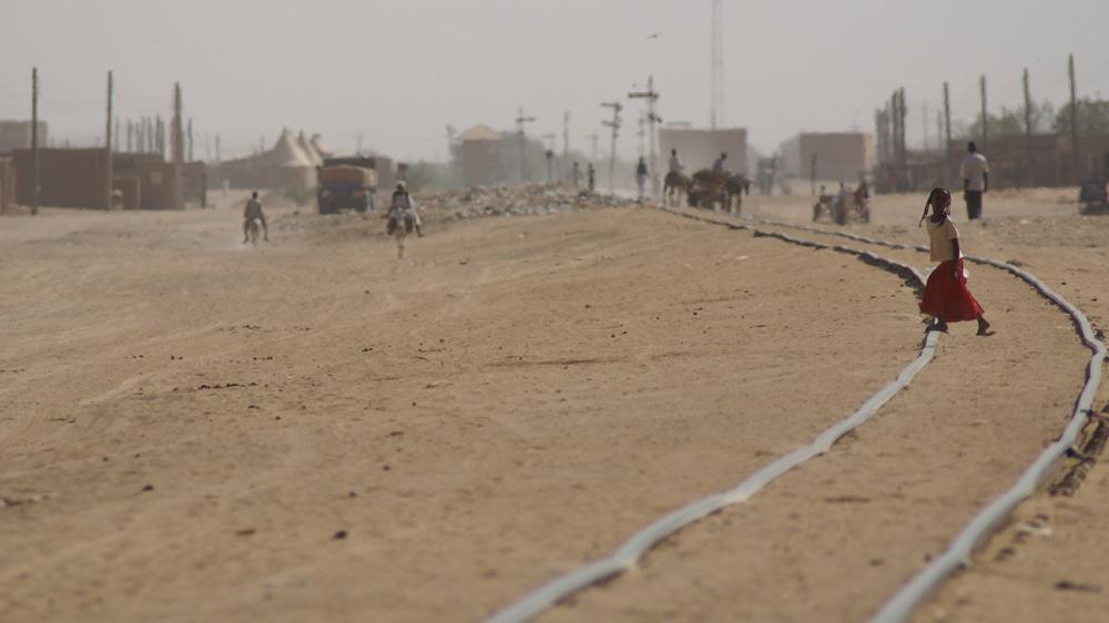 Die Bahn von Wadi Halfa nach Khartoum