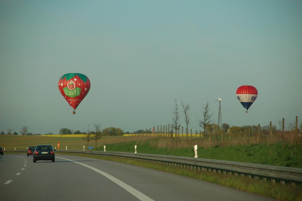 Die Ballonfahrtsaison hat begonnen