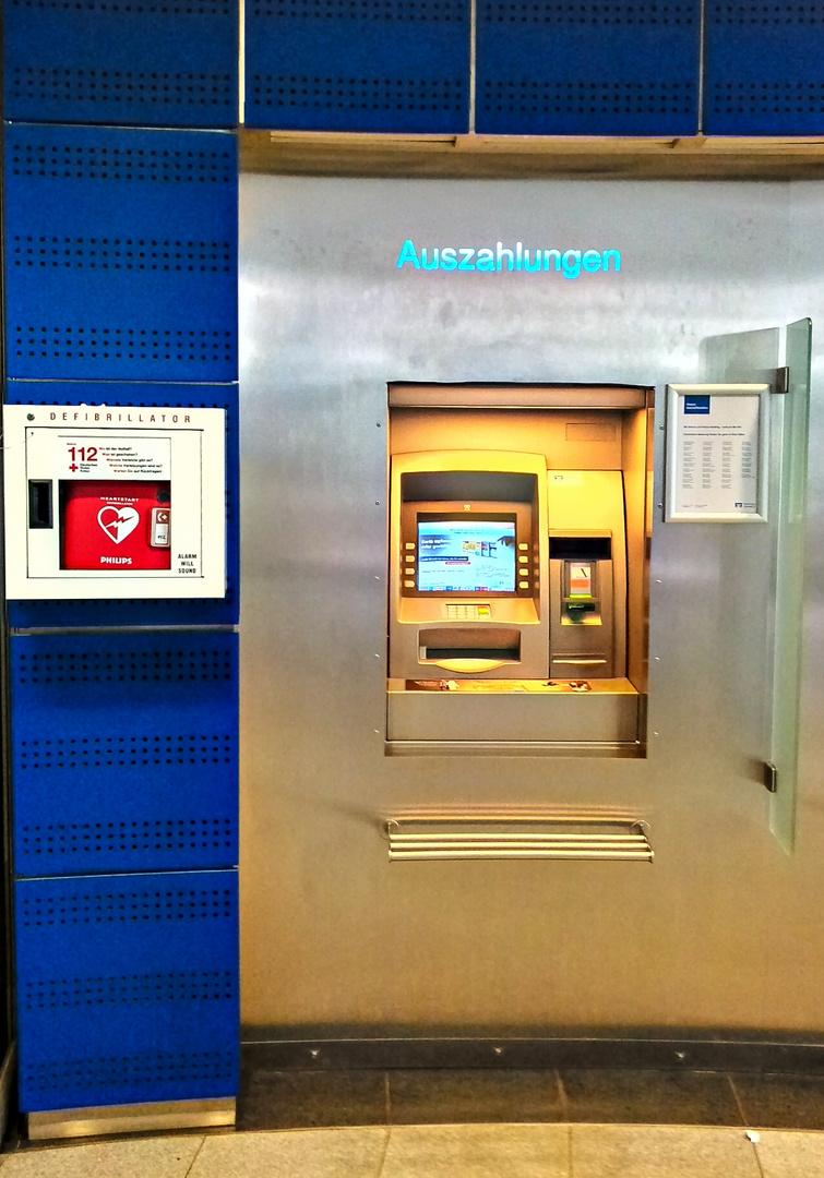 die Bank, dein Freund und Helfer...