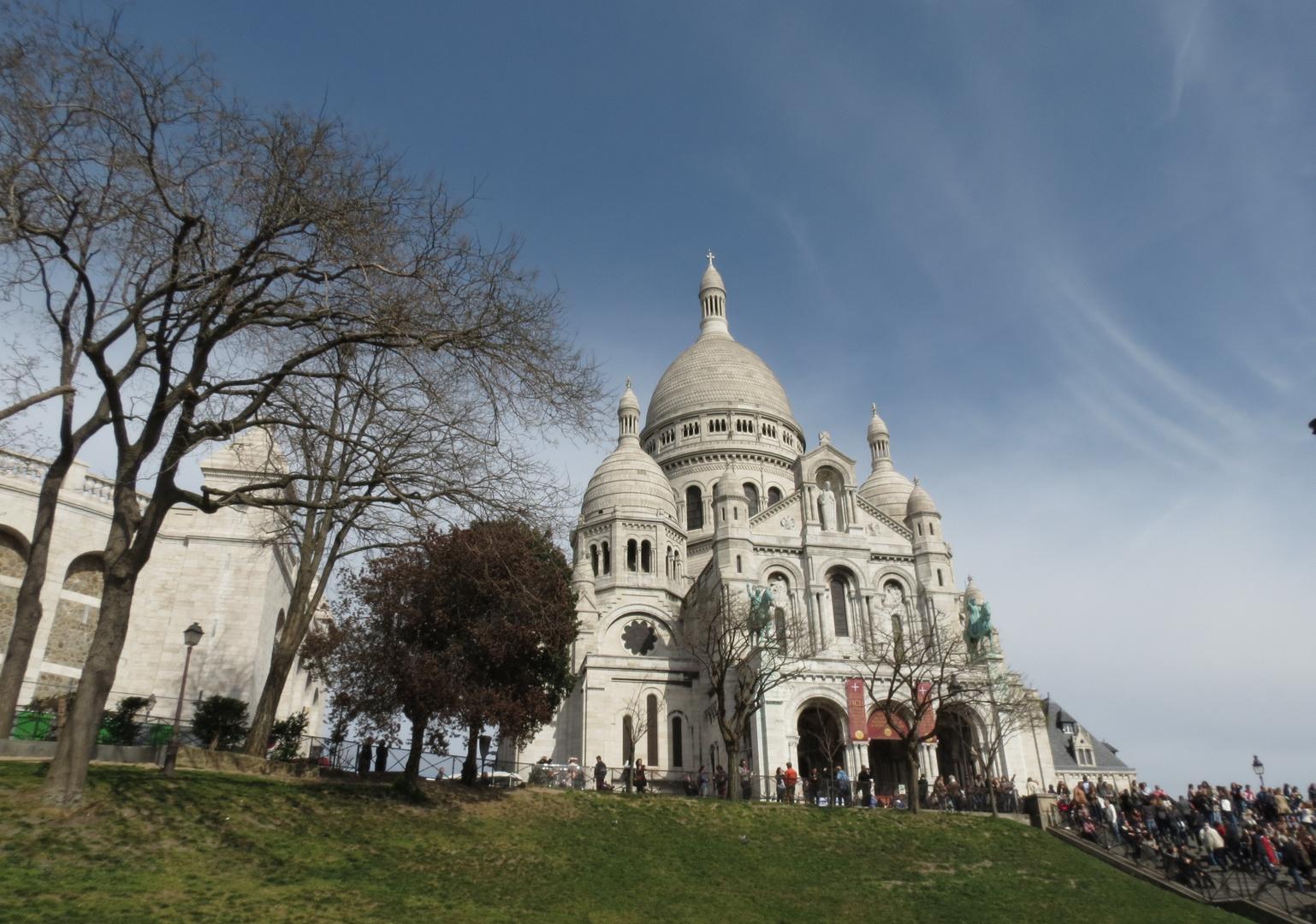 Die Basilika Sacré-Cœur auf dem Montmartre