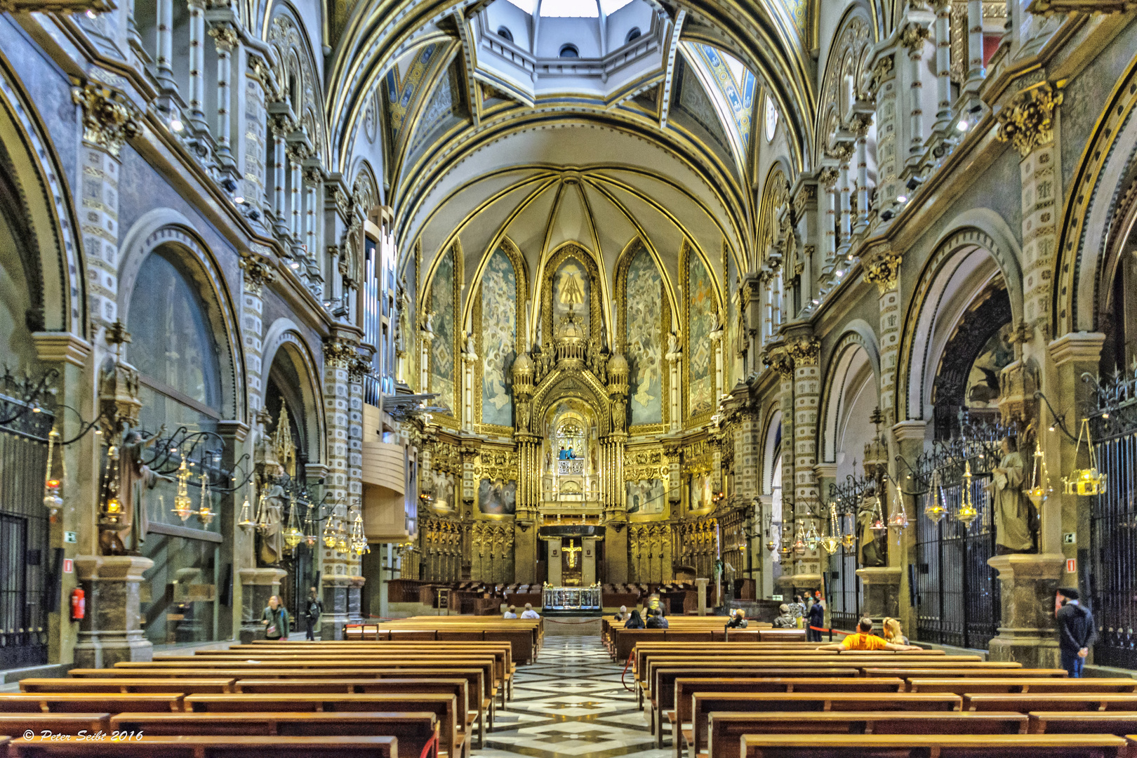 Die Basilika Santa Maria de Montserrat