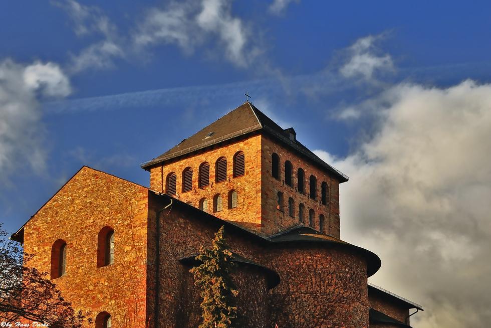 Die Basilika von Schloss Johannisberg