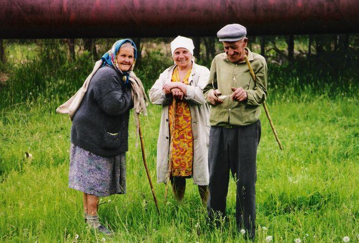 Die Bauern in Russland