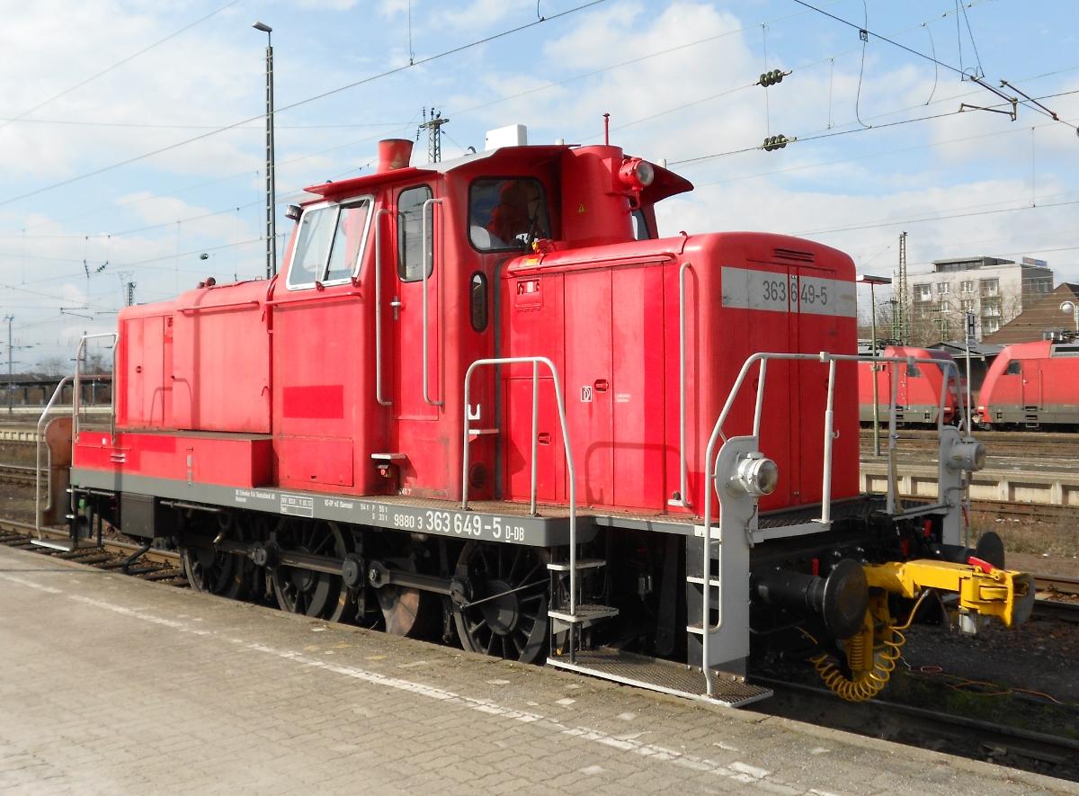 Die Baureihe 363