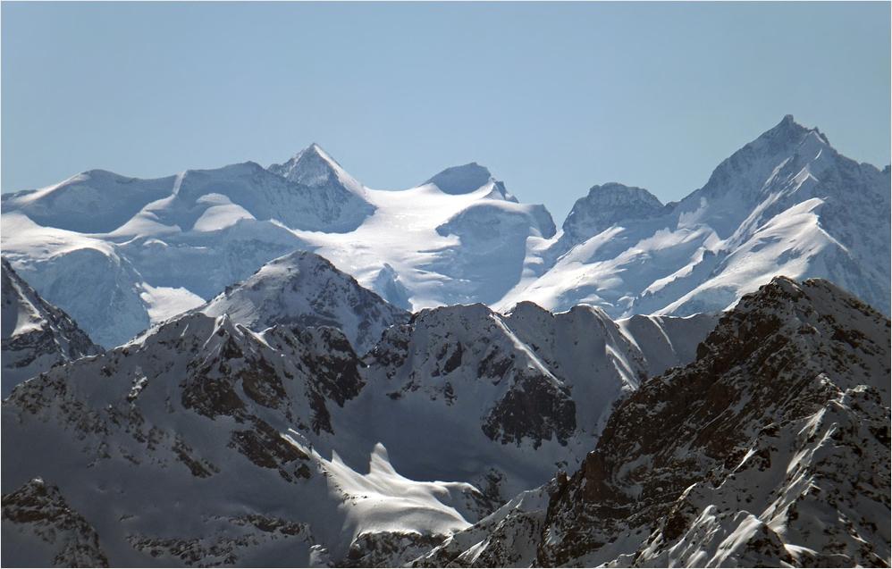 Die beiden höchsten Gipfel...