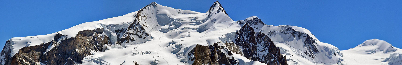 Die beiden höchsten Monte Rosagipfel , die unser europäisches Dach bilden...